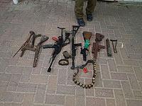 Палестинский араб задержан по подозрению в производстве оружия