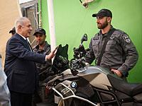 """Нетаниягу посетил южные кварталы Тель-Авива и обещал """"вернуть город израильтянам"""""""