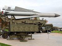 ЗУР 5В28 на пусковой установке 5П72В ЗРК С-200В Вега