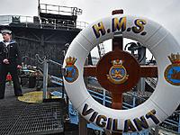 Секс и наркотики: каждый 10-й моряк уволен с британской атомной подлодки Vigilant