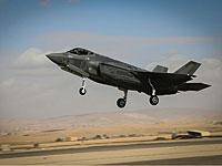 """Израиль получил еще два самолета F-35I (""""Адир"""")"""