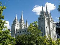 Церковь Иисуса Христа Святых последних дней  в Солт‑Лейк‑Сити (США, штат Юта)