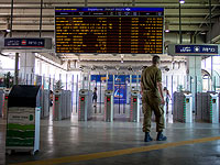 Движение поездов в Тель-Авиве было остановлено ради поисков сбежавшего кота Гури