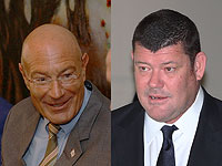 Арнон  Милчен и Джеймс Пакер