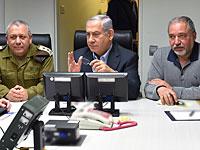 Министр обороны Израиля Авигдор Либерман в Генштабе