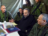 Министр обороны Израиля Авигдор Либерман в Южном военном округе