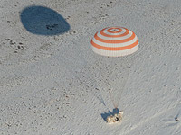 Очередной экипаж МКС вернулся на Землю